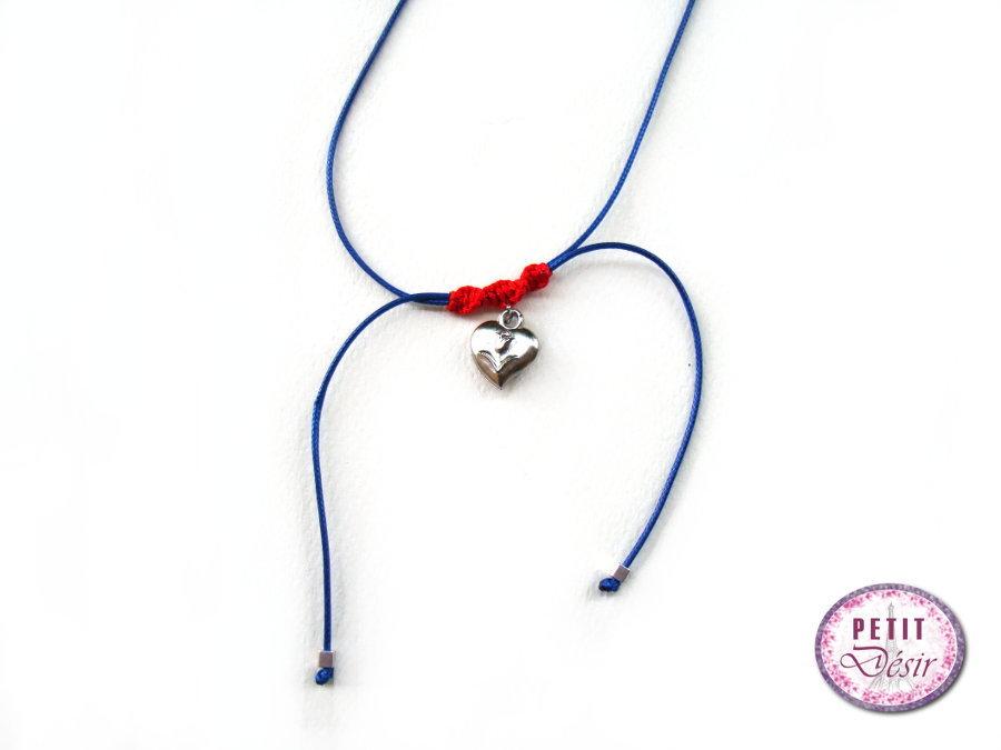 Κολιέ τσόκερ μακραμέ με καρδιά με λουλούδι. colie-kardia-metaliki 24eee5ed5e0